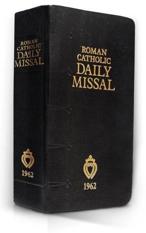 Latin Mass Missals - 1962