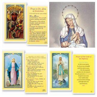 Mary Holy Cards
