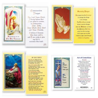 Prayer Holy Cards