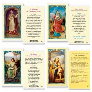 Saints & Angels Holy Cards