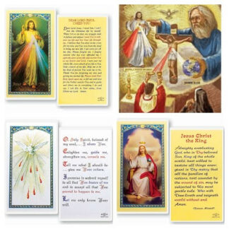 Trinity Holy Cards